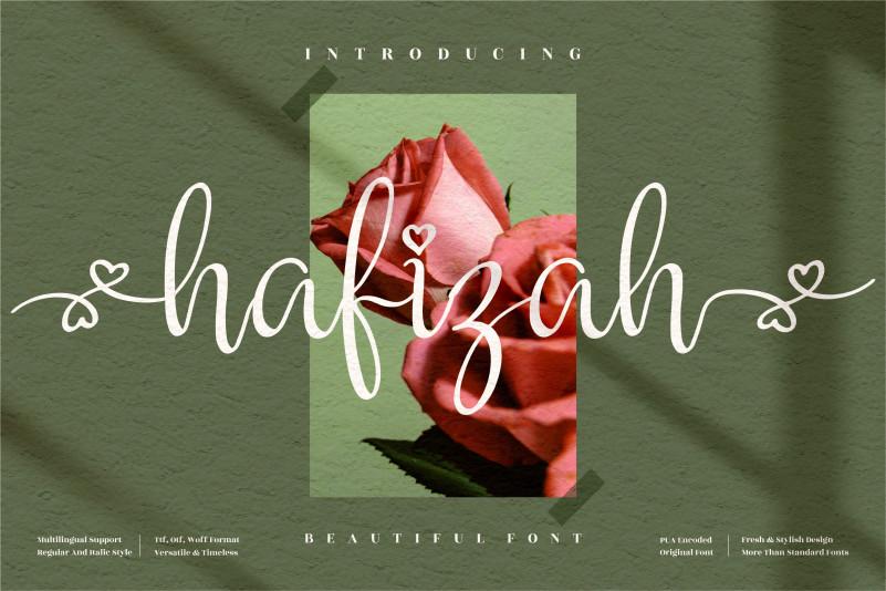 Hafizah Calligraphy Font