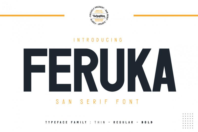 Feruka Sans Serif Font