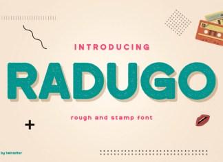 Radugo Display Font