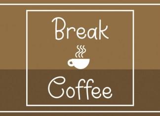 Break Coffee Handwritten Font