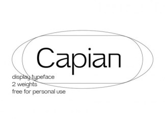 Capian Sans Serif Font