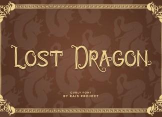 Lost Dragon Display Font