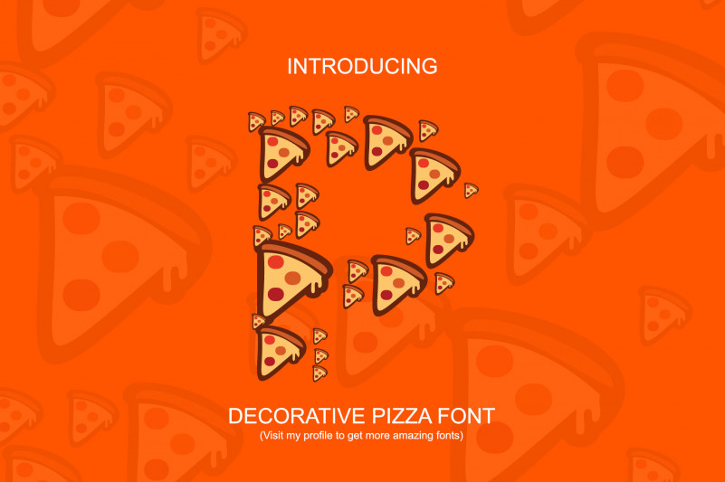 Pizza Lovers Display Font