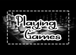 Playing Games Script Font