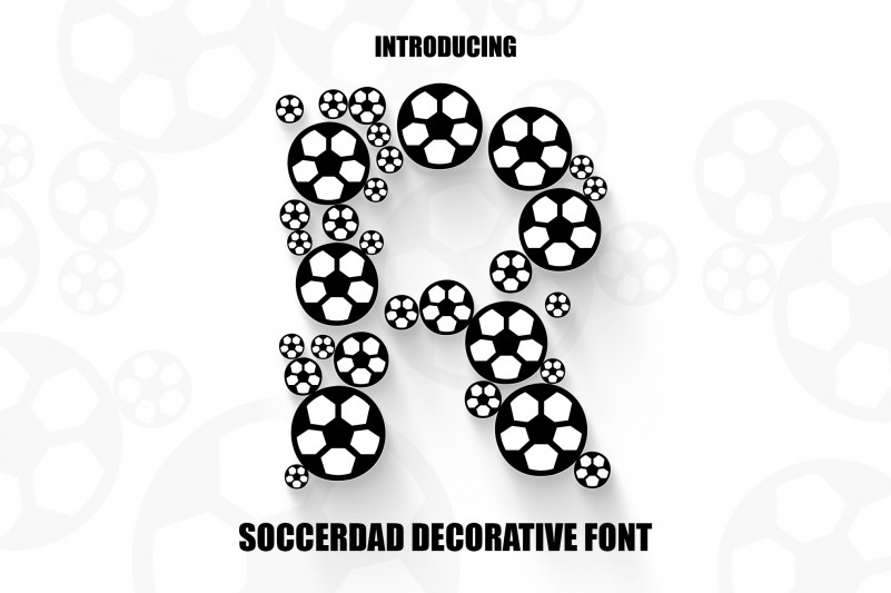 Soccer Dad Display Font