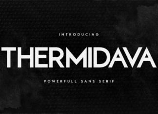 Thermidava Sans Serif Font
