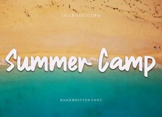 Summer Camp Script Font