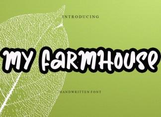 My Farmhouse Brush Font