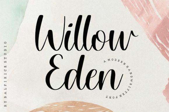 Willow Eden Script Font
