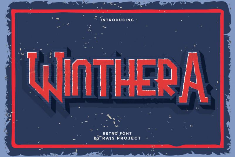 Winthera Display Font