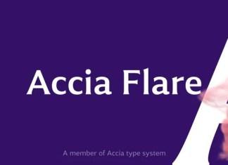 Accia Flare Serif Font