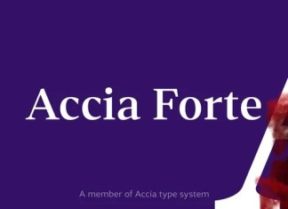 Accia Forte Serif Font