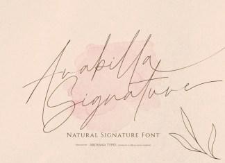 Arabilla Signature Font