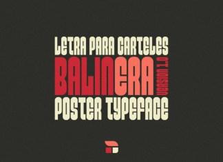 Balinera Display Font