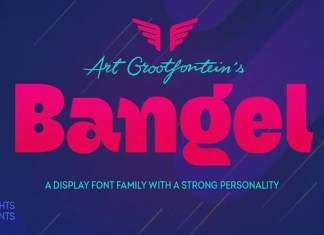Bangel Display Font