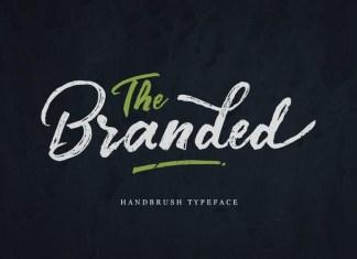 Branded Brush Font