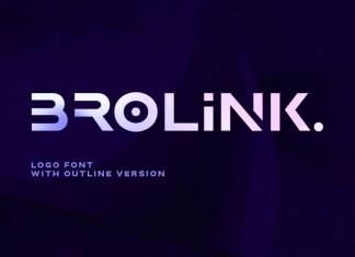 Brolink Display Font