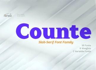 Counte Serif Font