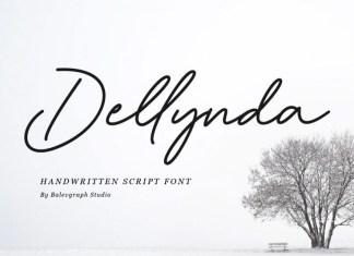 Dellynda Handwritten Font