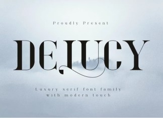 Delucy Serif Font