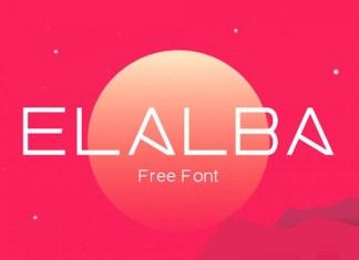 Elalba Sans Serif Font