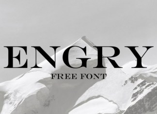 Engry Serif Font