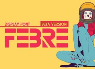 Febre Display Font