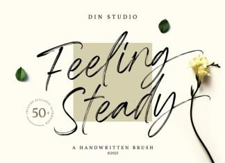 Feeling Steady Brush Font
