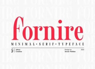 Fornire Serif Font