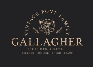 Gallagher Display Font