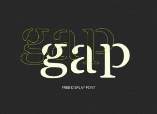 GAP Display Font