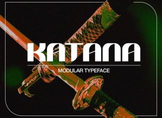 Katana Display Font