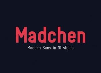 Madchen Sans Serif Font