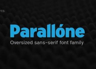Parallone Sans Serif Font