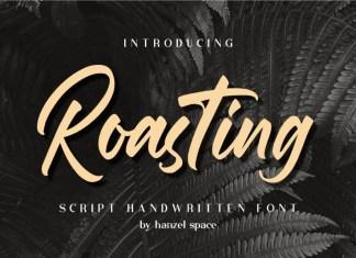 Roasting Bold Script Font