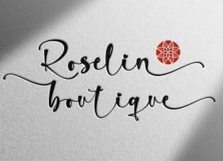 Rossellia Script Font