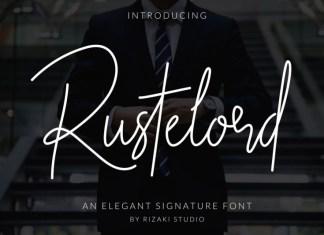 Rustelord Signature Font