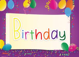 Birthday Display Font
