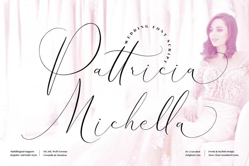 Pattricia Michella Script Font