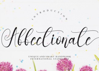 Affectionate Calligraphy Font