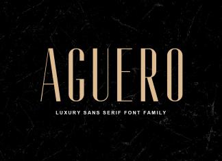 Aguero Sans Serif Font