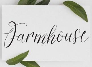 Farmhouse Script Font