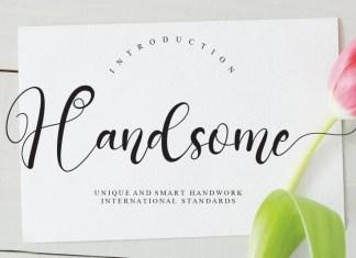 Handsome Script Font