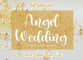 Angel Wedding Script Font