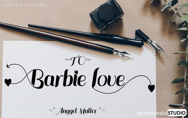 Barbie Love Font