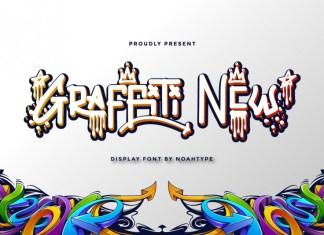 Graffiti New Display Font