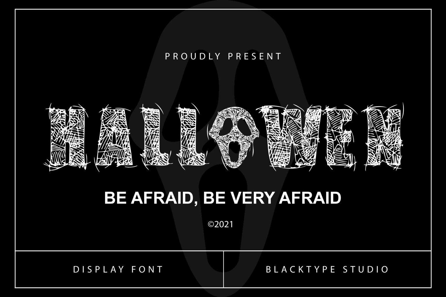 Hallowen Font
