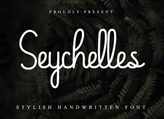 Seychelles Handwriting Font