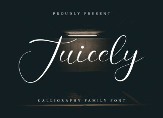 Juicely Calligraphy Font