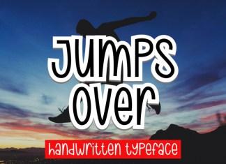 Jumps Over Font